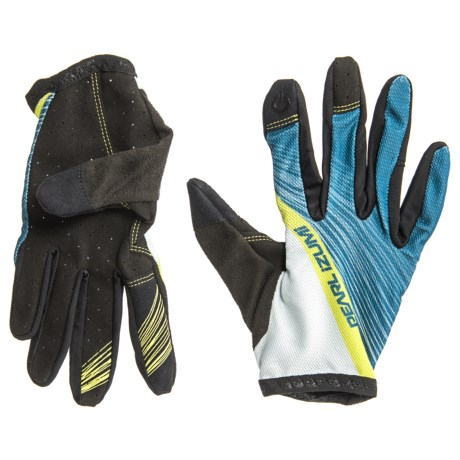 Pearl Izumi Divide Mountain Bike Gloves (For Women) in Blue Steel Fracture