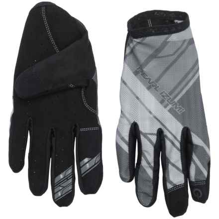 Pearl Izumi Divide Mountain Bike Gloves - Touchscreen Compatible (For Men) in Black - Closeouts