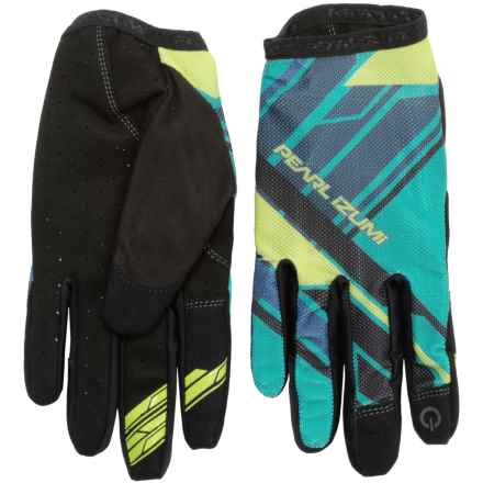 Pearl Izumi Divide Mountain Bike Gloves - Touchscreen Compatible (For Men) in Viridian Green - Closeouts