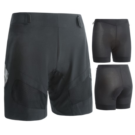 Pearl Izumi Divide Mountain Bike Shorts (For Women) in Black