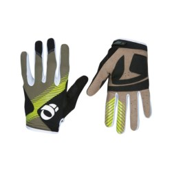 Pearl Izumi Divide Trail Gloves (For Men) in Silt/Lime