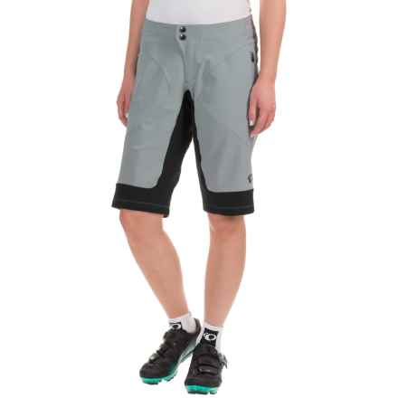 Pearl Izumi Elevate Mountain Bike Shorts (For Women) in Monument Grey - Closeouts