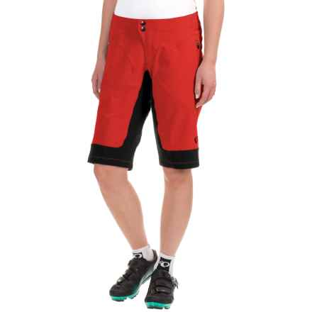 Pearl Izumi Elevate Mountain Bike Shorts (For Women) in Poppy Red - Closeouts