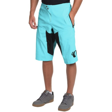 Pearl Izumi Elevate Mountain Cycling Shorts (For Men) in Blue Mist / Black