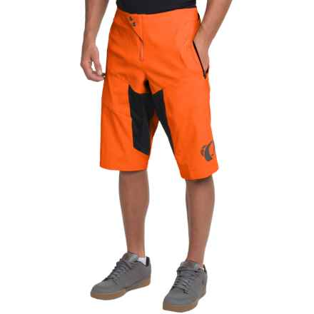 Pearl Izumi Elevate Mountain Cycling Shorts (For Men) in Red Orange - Closeouts