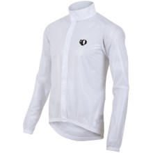 Pearl Izumi ELITE Barrier Clear Jacket (For Men) in Clear White - Closeouts