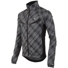 Pearl Izumi Elite Barrier Convertible Cycling Jacket (For Men) in Samurai Plaid - Closeouts