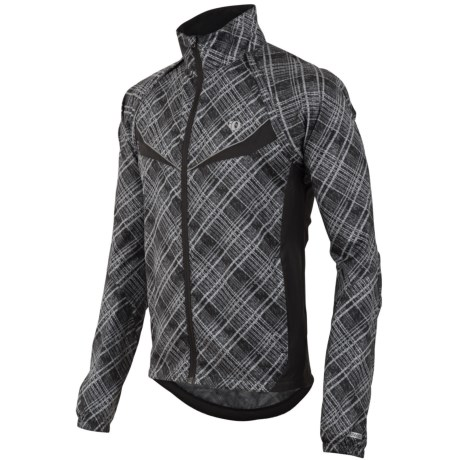 Pearl Izumi Elite Barrier Convertible Cycling Jacket (For Men) in Black
