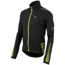 Pearl Izumi ELITE Barrier Convertible Jacket (For Men) in Black/Black - Closeouts