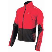 Pearl Izumi ELITE Barrier Convertible Jacket (For Men) in True Red/Black - Closeouts