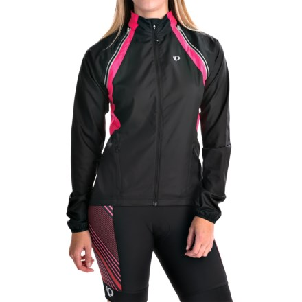 Pearl Izumi ELITE Barrier Convertible Jacket (For Women) in Black Sy Sp 8a79b29d8