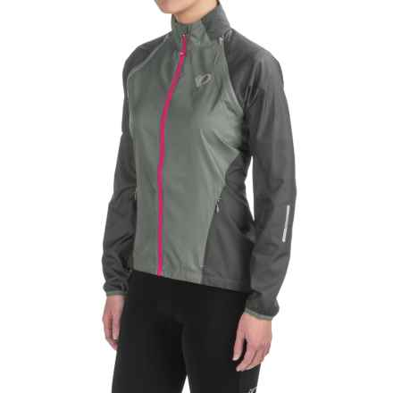 Pearl Izumi ELITE Barrier Convertible Jacket (For Women) in Monument/Smoked Pearl - Closeouts