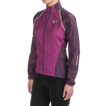Pearl Izumi ELITE Barrier Convertible Jacket (For Women) in Purple Wine/Wineberry - Closeouts
