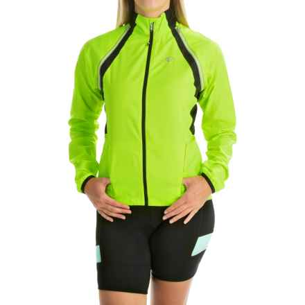 Pearl Izumi ELITE Barrier Convertible Jacket (For Women) in Screaming Yellow - Closeouts