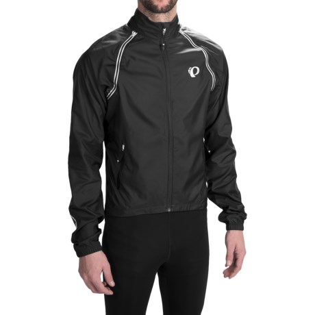 Pearl Izumi ELITE Barrier Cycling Jacket - Convertible (For Men) in Black
