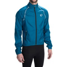 Pearl Izumi Elite Barrier Cycling Jacket - Convertible (For Men) in Mykonos Blue - Closeouts