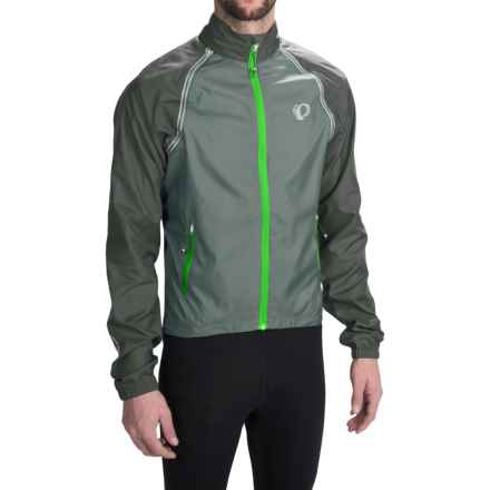 Pearl Izumi Elite Barrier Cycling Jacket - Convertible (For Men) in Smoked Pearl - Closeouts