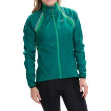 Pearl Izumi ELITE Barrier Cycling Jacket - Convertible (For Women) in Deep Lake - Closeouts