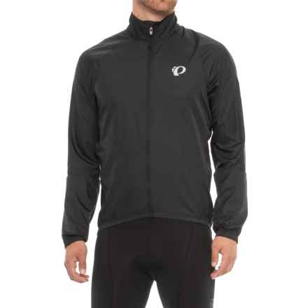 Pearl Izumi ELITE Barrier Cycling Jacket (For Men) in Black/Black - Closeouts
