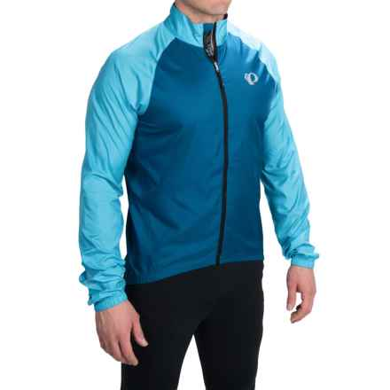 Pearl Izumi ELITE Barrier Cycling Jacket (For Men) in Mykonos Blue/Blue Atoll - Closeouts