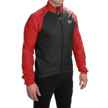 Pearl Izumi ELITE Barrier Cycling Jacket (For Men) in True Red/Black - Closeouts