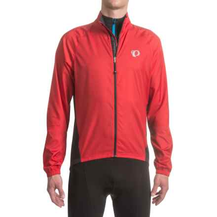 Pearl Izumi ELITE Barrier Cycling Jacket (For Men) in True Red - Closeouts