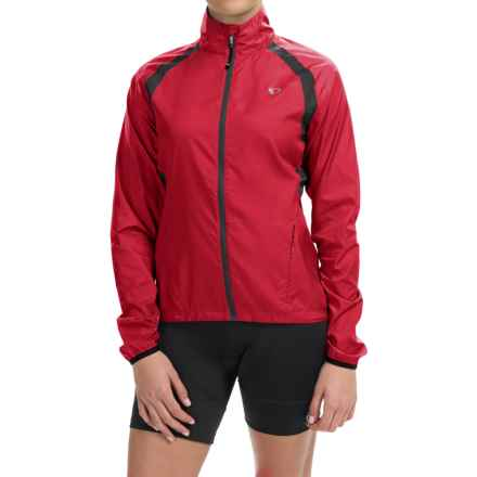 Pearl Izumi ELITE Barrier Cycling Jacket (For Women) in Crimson - Closeouts