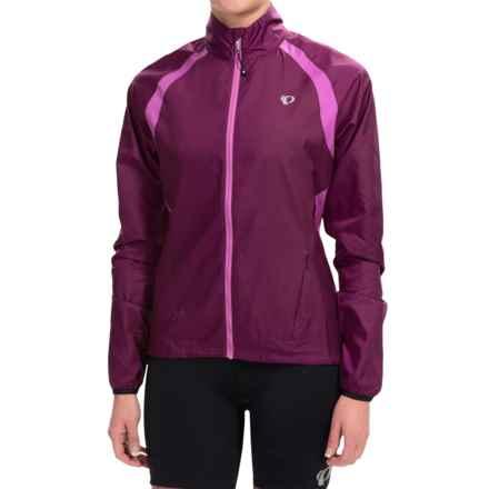 Pearl Izumi ELITE Barrier Cycling Jacket (For Women) in Dark Purple - Closeouts