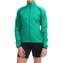 Pearl Izumi ELITE Barrier Cycling Jacket (For Women) in Gumdrop - Closeouts