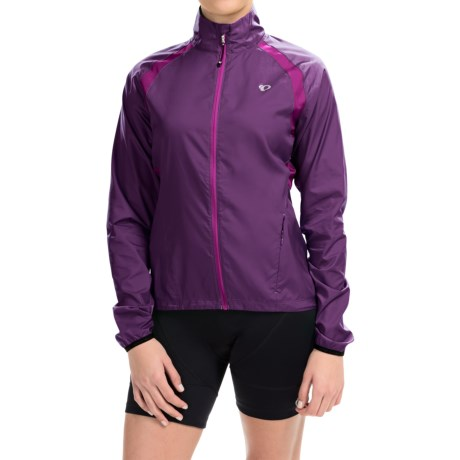 Pearl Izumi ELITE Barrier Cycling Jacket (For Women) in Wineberry