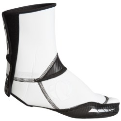 Pearl Izumi Elite Barrier Cycling Shoe Cover - 3mm Neoprene (For Men and Women) in White