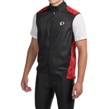 Pearl Izumi ELITE Barrier Cycling Vest (For Men) in True Red/Black - Closeouts