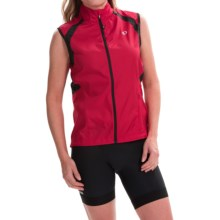 Pearl Izumi ELITE Barrier Cycling Vest (For Women) in Crimson - Closeouts