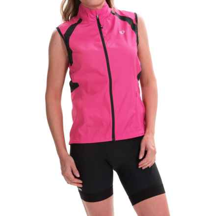 Pearl Izumi ELITE Barrier Cycling Vest (For Women) in Screaming Pink - Closeouts