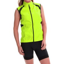 Pearl Izumi ELITE Barrier Cycling Vest (For Women) in Screaming Yellow - Closeouts
