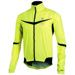 Pearl Izumi Elite Barrier Jacket (For Men) in Screaming Yellow/Black