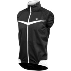 Pearl Izumi ELITE Barrier Vest (For Men) in White/Black