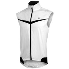 Pearl Izumi ELITE Barrier Vest (For Men) in White/Black - Closeouts