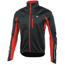 Pearl Izumi ELITE Cycling Jacket - Soft Shell, Insulated (For Men) in Black/Black - Closeouts