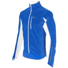 Pearl Izumi ELITE Cycling Jacket - Soft Shell, Insulated (For Men) in True Blue/White - Closeouts