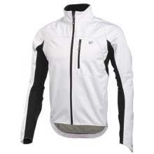 Pearl Izumi ELITE Cycling Jacket - Soft Shell, Insulated (For Men) in White/Black - Closeouts
