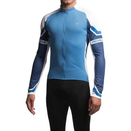 Pearl Izumi ELITE Cycling Jersey - Full Zip, Long Sleeve (For Men) in Blue X 2 - Closeouts