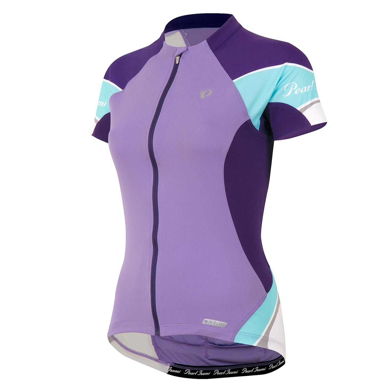 Pearl izumi elite cycling jersey full zip short sleeve for Pearl izumi cycling shirt