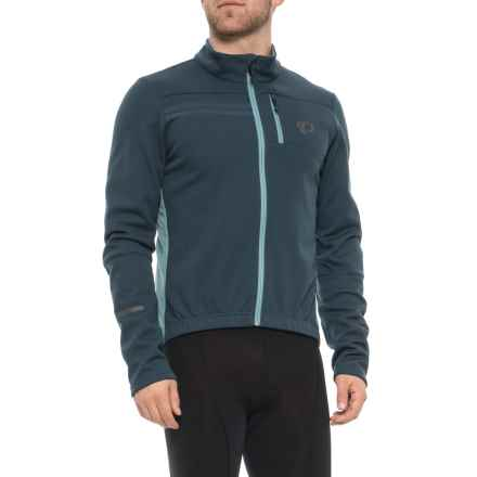 Pearl Izumi ELITE Escape AmFIB Cycling Jacket (For Men) in Midnight Navy/Arctic - Closeouts