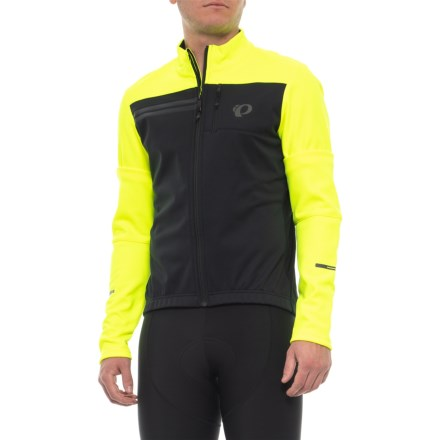 fb01911e75308 Pearl Izumi ELITE Escape AmFIB Cycling Jacket (For Men) in Screaming  Yellow/Black