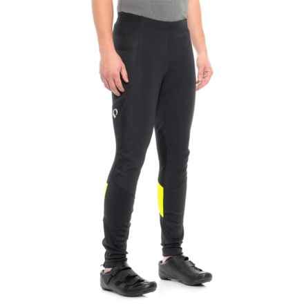 Pearl Izumi ELITE Escape AmFIB® Cycling Tights (For Men) in Black/Screaming Yellow - Closeouts