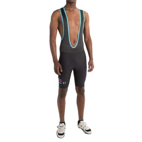 Pearl Izumi ELITE Escape Bib Cycling Shorts (For Men) in Black / Blue Mist