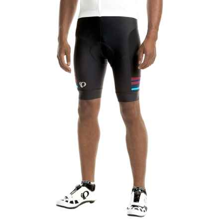 Pearl Izumi ELITE Escape Bike Shorts (For Men) in Black / Blue Mist - Closeouts