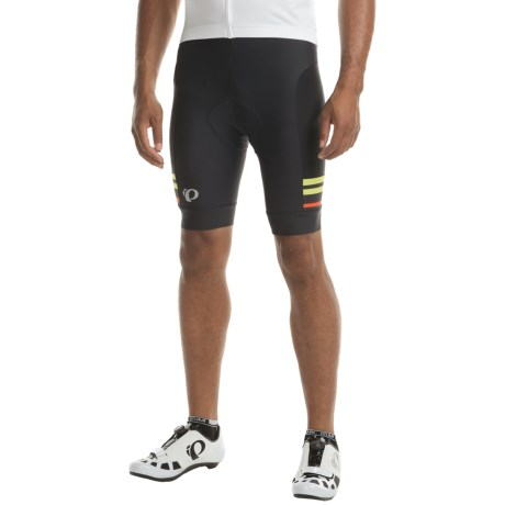 Pearl Izumi ELITE Escape Bike Shorts (For Men) in Black / Citron
