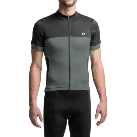 Pearl Izumi ELITE Escape Cycling Jersey - Full Zip, Short Sleeve (For Men) in Cool Stealth